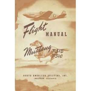 North American Aviation P 51 B C Aircraft Flight Manual