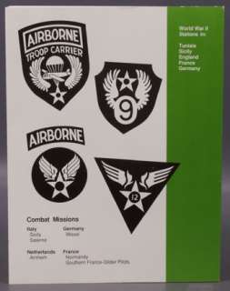 WWII Airborne 32nd Troop Carrier Squadron Unit History