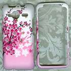 spring flower rubberized Sprint HTC EVO Shift 4G/Knight PHONE COVER