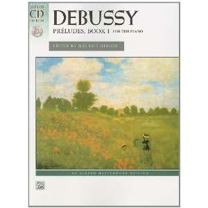 Debussy    Preludes, Bk 1: By Claude Debussy / ed. Maurice Hinson