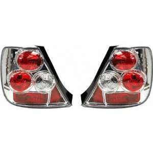 02 03 HONDA CIVIC HATCHBACK ALTEZZA CRYSTAL CLEAR TAIL LIGHT, one set