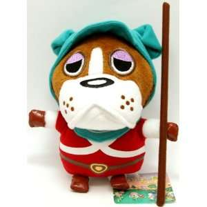 Official Nintendo Animal Crossing Plush Toy   7 Bulldog