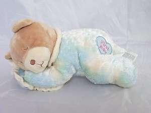 CHOSUN FIRST BABY Laying Teddy Bear Stuffed Animal Plush Rattle CE