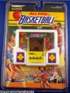 NEW TIGER ELECTRONIC ALL PRO BASKETBALL HANDHELD GAME