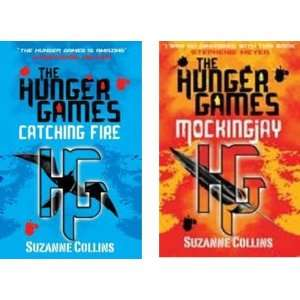 Catching Fire & Mockingjay (Books 2 & 3 of the Hunger