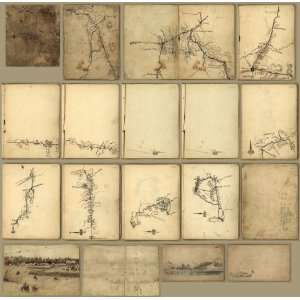 Civil War Map Civil War sketch book  Tennessee and