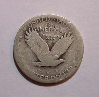 1916 1930 D Silver Standing Liberty Quarter US Coin