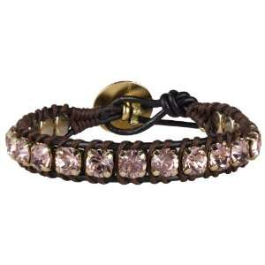 Magic Crystal Bracelet, vintage rose/gold plated Hely