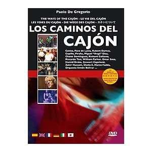 Los Caminos Del Cajon DVD Musical Instruments