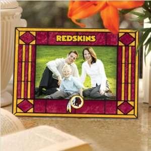 Company NFL WRS 245 Washington Redskins Art Glass Horizontal Frame