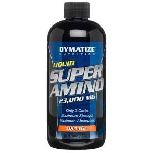 Dymatize Nutrition Super Amino 23000 mg, Liquid, Orange
