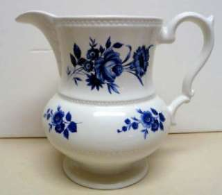 LORD NELSON POTTERY PITCHER  MADE ENGLAND  MEDIUM SIZE