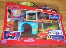 NEW Mega Bloks Cars 7787 Cruisin Lightning McQueen glow
