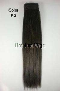 Beautiful 100 % Human Weaving Hair in Yaki Straight Wavy