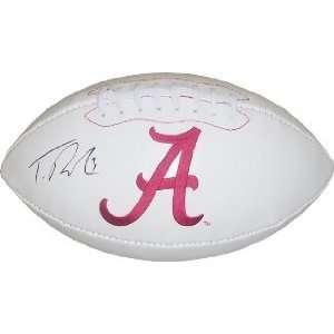 Trent Richardson Autographed/Hand Signed Alabama Crimson