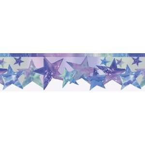 com Rainbow Star Die Cut Wall Border Rainbow Star Die Cut Wallpaper