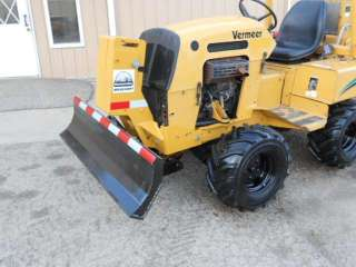 05 Vermeer RT450 Ride On Trencher Ditch Witch 6 Way Dozer Blade New