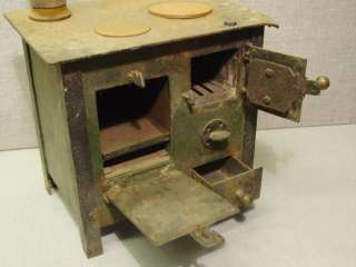 WWI German Trench Wood Coal Heat Cook Stove Boat