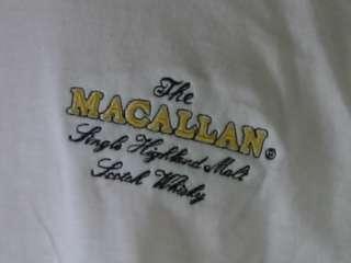Macallan Embroidered Logo Tee Shirt (L)