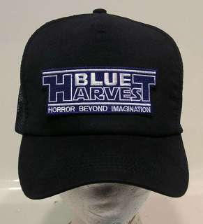 STAR WARS Blue Harvest Logo Baseball Cap/Hat NAVY