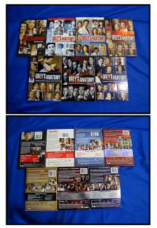 Greys Anatomy Seasons 1 2 3 4 5 6 and 7 DVD Box Sets Nice