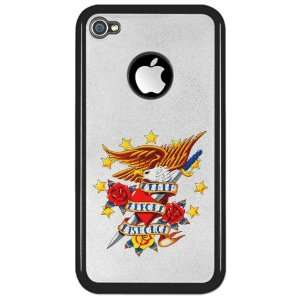 4S Clear Case Black Bald Eagle Death Before Dishonor: Everything Else