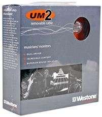 Westone UM2RC UM2 RC True Fit In Ear Earbud Headphones/Monitor