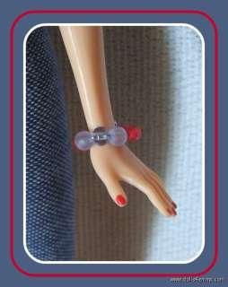 Handmade FASHION & JEWELRY 4 Model Muse BARBIE BASICS DOLL Jumpsuit