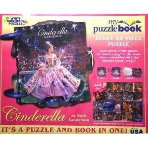 Cinderella Giant 20 Piece Puzzle   My Puzzle Book Toys & Games