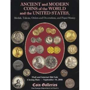 Ancient and Modern Coins of the World and the United States, Medals