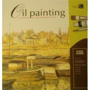 Oil Painting a complete kit art enthusiasts Philip Berril Books