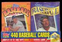 Complete BASEBALL 440 CARD Factory Sealed CEREAL Box SET Series 1 & 2