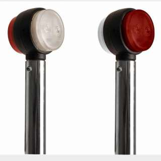 STAINLESS STEEL LED LIGHT POLES SCANIA VOLVO DAF MERCEDES IVECO MAN