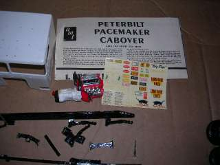 AMT PETERBILT PACEMARKER 352 CABOVER SEMI TRUCK MODEL BOXED