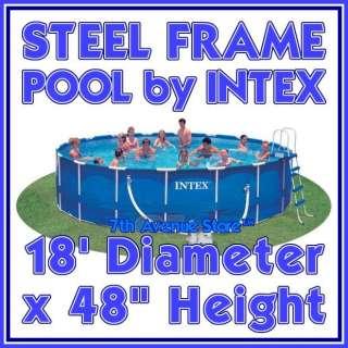 18x48Intex Metal Frame Above Ground Swimming Pool Kit