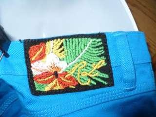 BLUE LABEL BLUE COLORED DENIM THOMPSON 650 SKINNY JEANS 29 6