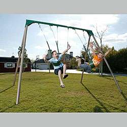 Lifetime A Frame Swing Set