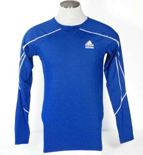 Adidas Men TechFit ClimaLite Long Sleeve Shirt 2XL NWT