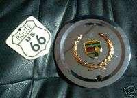NEW CADILLAC CUSTOM CHROME with GOLD Wreath Emblem Wheel Center Cap