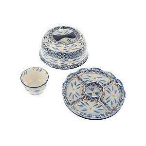 Temp tations Old World 3 piece Convertible Serving Set