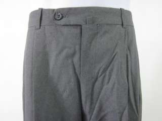 PAUL STUART Mens Wool Gray Dress Pants Slacks Sz 35