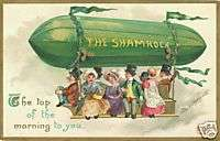 St. Patricks Day Vintage Refrigerator Magnet V149