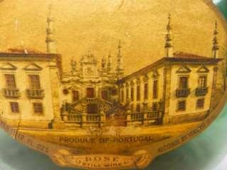 Still Wine Portugal Glass Bottle Antique Home Décor vintage