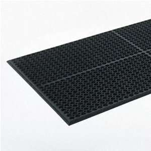 Light Heavy Duty Antifatigue Mat, Rubber, 36 x 60, Black Office