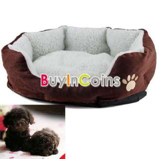 Soft Comfortable Pet Dog Cat Bed Style Sleep Accessories W/ Mat