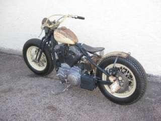 NEW SATIN FRONT BRAKE ROTOR Bobber Chopper Harley Rat Bike 556