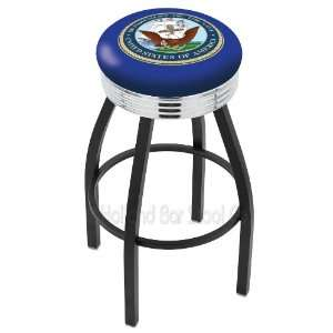 Holland Bar Stools United States Navy 30 Bar Stool 30L8B3Cnavy Single