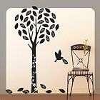 Tree Bird Wall Decal Sticker DIY Decor Art Ship USA