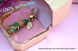 Juicy Couture Teddy Bear Tree Christmas Charm Limited