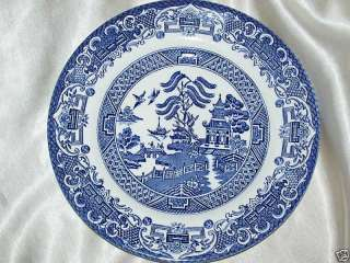 ENGLISH IRONSTONE TABLEWARE EIT BLUE WILLOW Bread Plate